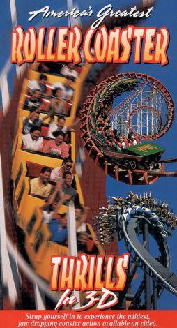 America's Greatest Roller Coaster Thrills in 3-D, Volume 1