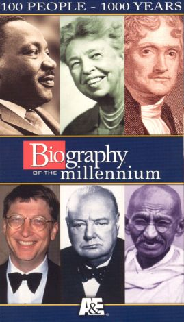 Biography of the Millennium: 100 People - 1000 Years, Part II