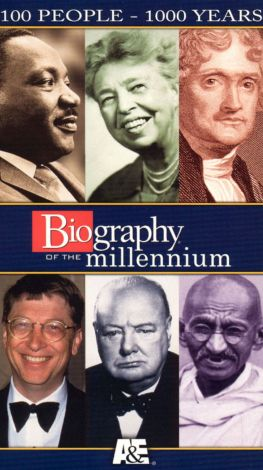 Biography of the Millennium: 100 People - 1000 Years, Part III