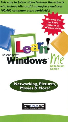 Learn Windows ME: Networking, Pictures, Movies & More!