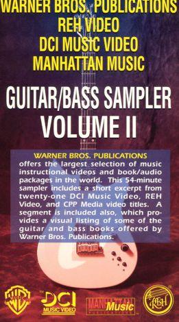 Guitar/Bass Sampler, Vol. II
