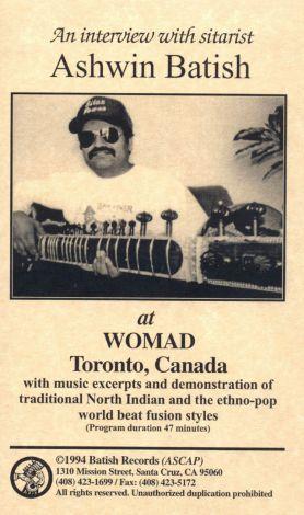 Ashwin Batish: At Womad
