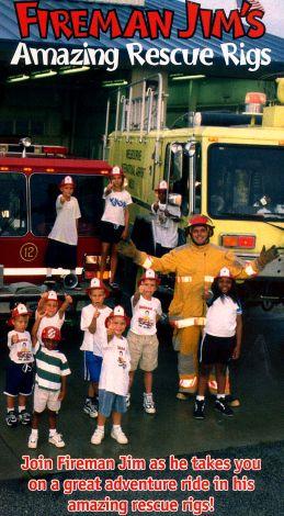 Fireman Jim's Amazing Rescue Rigs