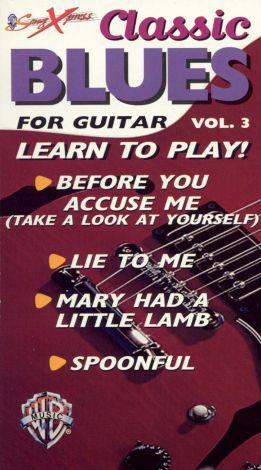 SongXpress: Classic Blues for Guitar, Vol. 3