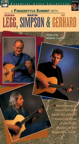 A Fingerstyle Summit with Adrian Legg, Martin Simpson & Ed Gerhard