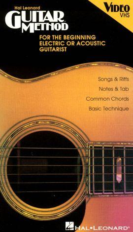 Hal Leonard Guitar Method for the Beginning Electric or Acoustic Guitarist