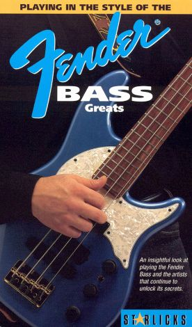 Playing in the Style of the Fender Bass Greats