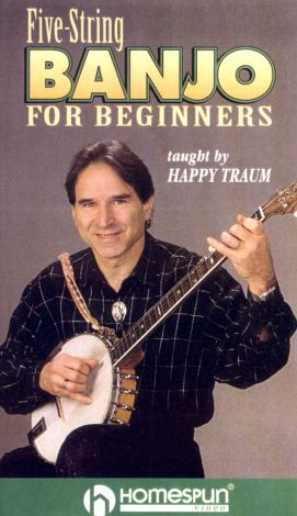Happy Traum: Five-String Banjo for Beginners