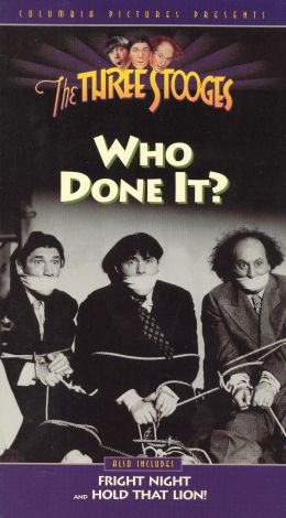 The Three Stooges : Who Done It?