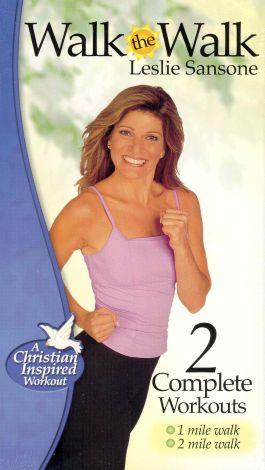 Leslie Sansone: Walk the Walk - 2 Complete Workouts