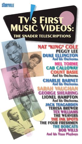 TV's First Music Videos: The Snader Telescriptions