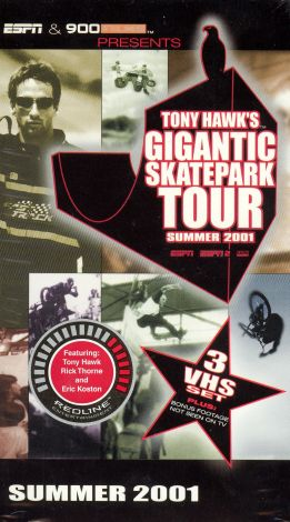 Tony Hawk's Gigantic Skatepark Tour: Summer 2001