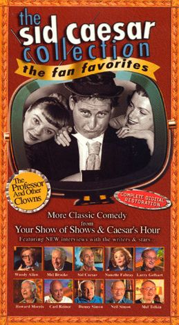 The Sid Caesar Collection: The Professor and Other Clowns