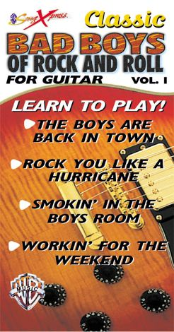 SongXpress: Classic Bad Boys of Rock and Roll for Guitar, Vol. 1