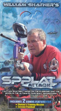 William Shatner's Spplat Attack!