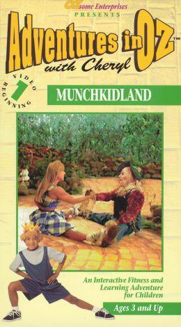 Adventures in Oz With Cheryl, Vol. 1: Munchkidland - Beginner Skill Level