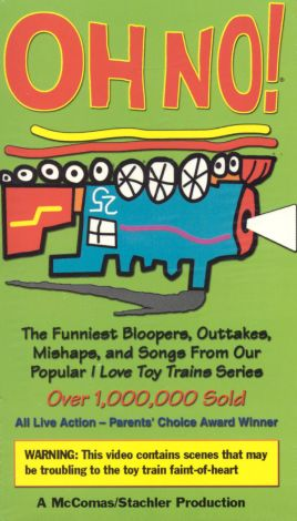 Oh No! Toy Train Bloopers