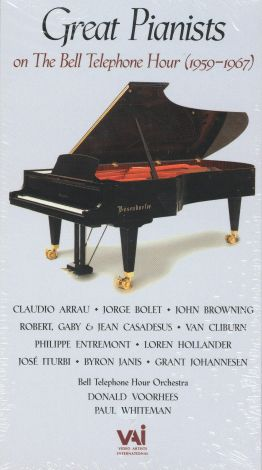 Great Pianists of the Bell Telephone Hour (1959-1967)