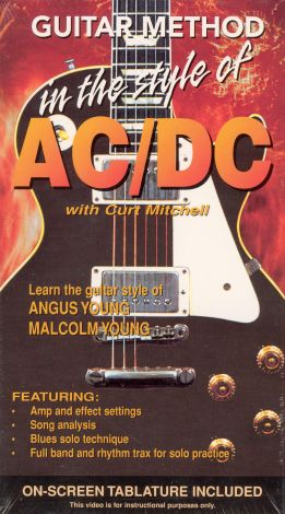 Guitar Method: In the Style of AC/DC