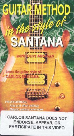 Guitar Method: In the Style of Santana