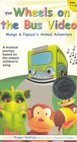 The Wheels on the Bus: Mango & Papaya's Animal Adventure