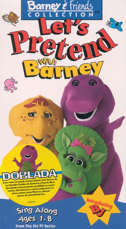 Barney: Let's Pretend With Barney (1994) -   Synopsis