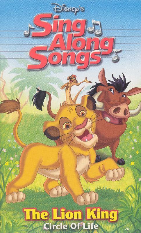 disney u0026 39 s sing along songs  the lion king