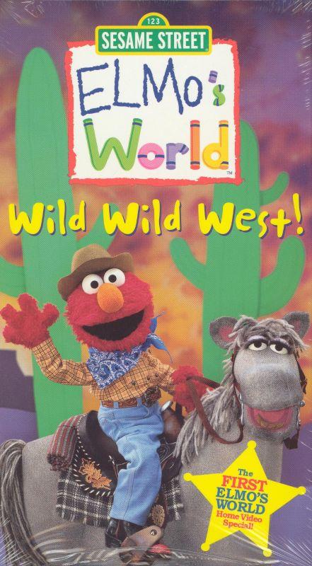Elmo S World Wild Wild West 2001 Victor Dinapoli Jim