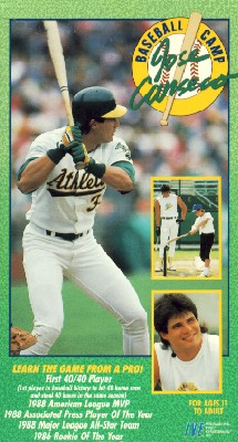 Jose Canseco's Baseball Camp