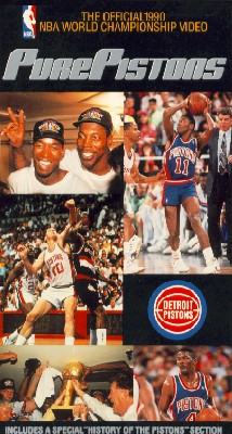 The Official 1990 NBA Championship: Pure Pistons