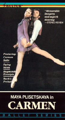 Maya Plisetskaya in Carmen