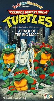 Teenage Mutant Ninja Turtles: Attack of Big Macc