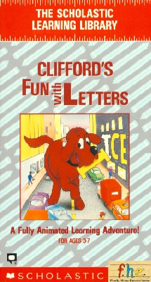 Clifford the Big Red Dog: Clifford's Fun with Letters (1988)