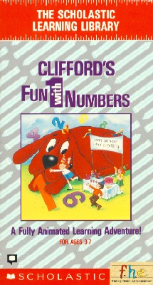 Clifford the Big Red Dog: Clifford's Fun with Numbers