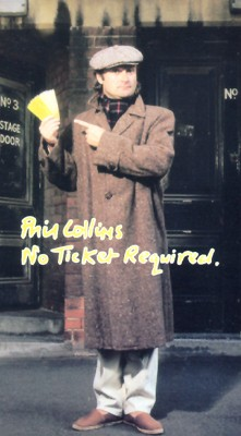 Phil Collins: No Ticket Required