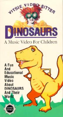 Vitsie Video Sitter: Dinosaurs