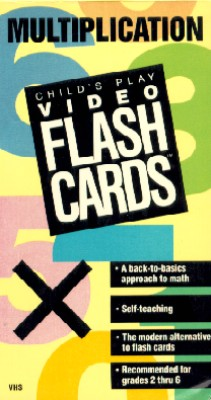 Child's Play Video Flash Cards: Multiplication