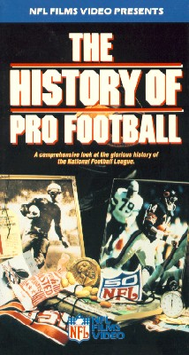 The History of Pro Football
