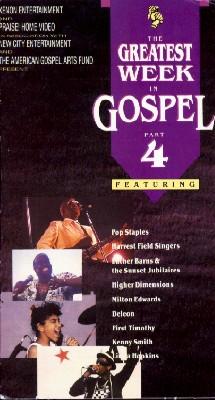 Greatest Week in Gospel [Video Series]