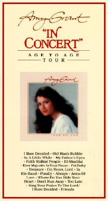 Amy Grant: In Concert - Age to Age Tour