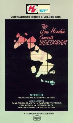 The Jimi Hendrix Concerts Videogram