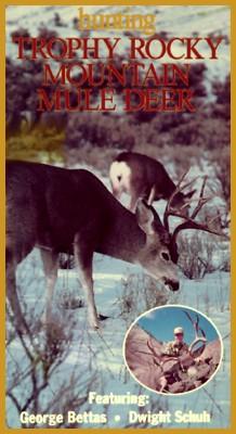 Hunting Trophy Rocky Mountain Mule Deer