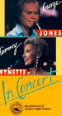 George Jones and Tammy Wynette in Concert
