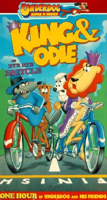 King and Odie: Bye Bye Bicycle