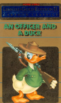 Officer and a Duck: Walt Disney Cartoon Classics Limited Gold Edition