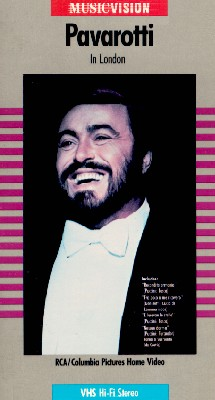 Pavarotti in London