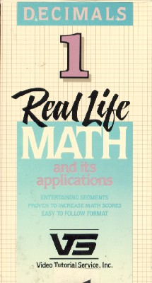 Real Life Math Series - Decimals, Vol. 1