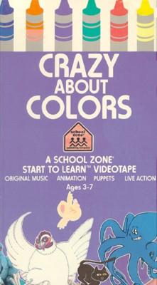 School Zone: Crazy About Colors