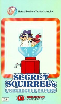 Secret Squirrel's Undercover Capers