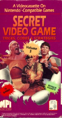 Secret Video Game Tricks, Codes and Strategies, Vol. 3